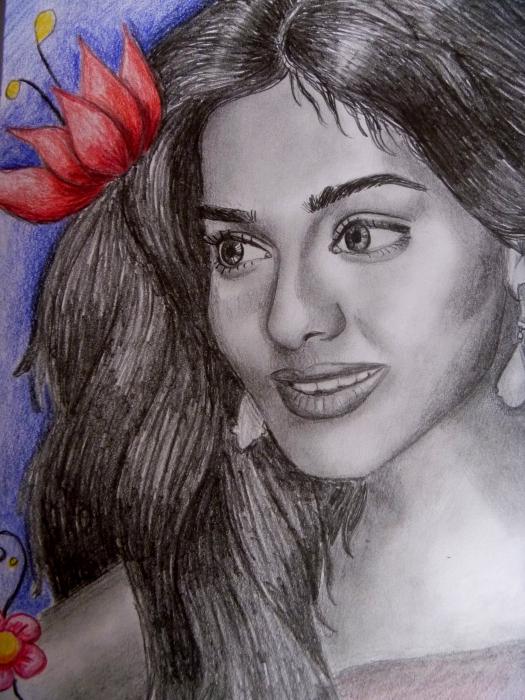 Amrita Rao par saray